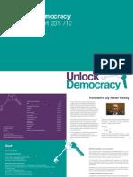 Unlock Democracy's Annual Report 2011-2012
