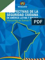 Memoria Perspectivas Seguridad Ciudadana Bolivia America Latina