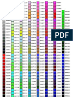 Infographic - Color Codes