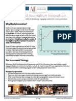 Media Innovation Initiative Onepager