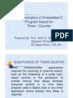 Timer - Coutner
