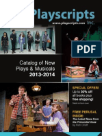 Playscripts, Inc. Catalog of New Plays & Musicals 2013-2014
