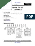 Datasheet Panasonic Msma042