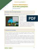 Profesor Tablas de Datos y Pictogramas 2