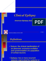 Epilepsy guideline in adults