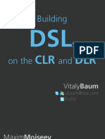 Building DSLs on CLR and DLR (.NET)
