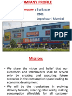 Project Big Bazaar in Vbp