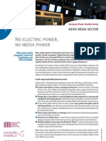 No electric power, no media power