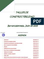 Metodologia para desarrollar taller de constructibilidad
