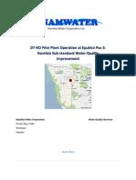 Namwater Report-Epukiro Pos 3