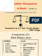 assets and liability management