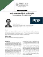 Rede e Subjetividade Na Filosofia Francesa Contemporanea