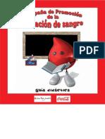 Guia Didactica Donacion de Sangre Red
