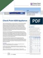 4200 Appliance Datasheet