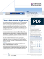 4400 Appliance Datasheet