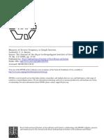 Measure of Divorce Frequency in Simple Societies