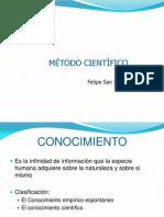 Metodo cientifico 2013