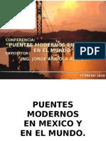 Puentes modernos de México y el Mundo