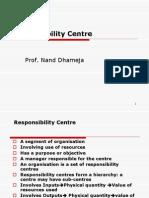 MCS-Responsibility Centres & Profit Centres