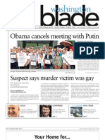 Washingtonblade.com - Volume 44, Issue 32 - August 9, 2013