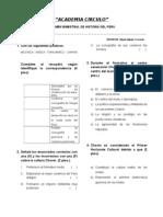 Examen Bimestral Mayo (Anual)