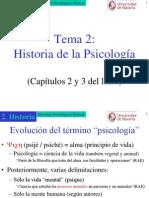 historia psicología