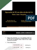 07 Operacion SX - Planta_Santa_Margarita