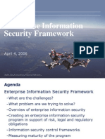 Enterprise Information Security Framework