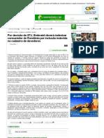 Por decisão do STJ, Embratel deverá indenizar consumidor de Rondônia por inclusão indevida no cadastro de devedores _ Tudo Rondônia
