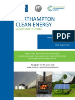 13-08-21 Northampton Clean Energy Forum