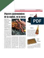 Reportaje gastronomía alicantina