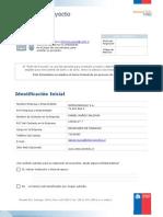 Perfil de Orientacion Proyectos de Innovacion 2011