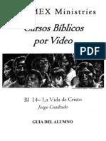 BI 14 La Vida de Cristo - Alumno