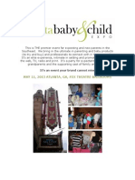2013 Atl Baby & Child Expo Vendor Packet