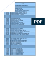 Tabela Converção componentes
