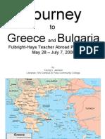 Young Jackson Powerpoint-Greece Bulgaria