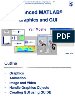 Graphics and GUI theory Using Matlab | Graphical User Interfaces