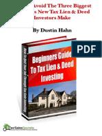 Beginners Guide to Liens Deeds