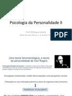 Psicologia Da Personalidade II Carl Rogers