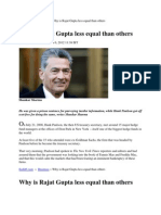 Rajat Gupta Truth
