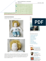 Snazzle Craft_ Waldorf Boy Doll - W_ Clothes Pattern!