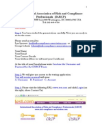 CISRCP Certification Steps 1