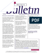Retail Consulting - National Retail Bulletin - J.C. Williams Group - January  2009