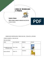 Libros Recomendados Curso 2012-13 Completo