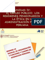 Unidad 4 - Semana 2 - Manual de Organización y Funciones y Cuadro de Asignación Personal  (Diapositivas)