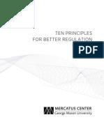 Ten Principles for Better Regulation