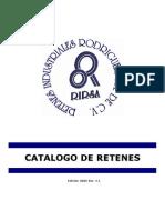Catalogo RIRSA 2006