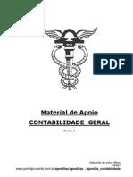 Material de Apoio 0 Conrabilidade Geral - Prof Eduardo Silva