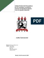 Fotometria de Chama - Materiais e Procedimentos - Iago