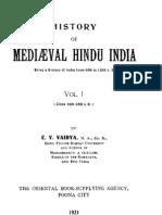 History of Medieval Hindu India